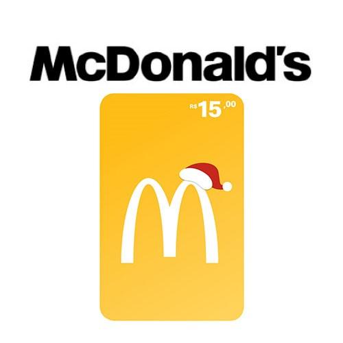 Gift Card McDonald's Natal R$ 15