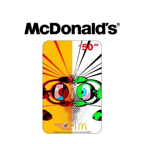Gift Card McDonald