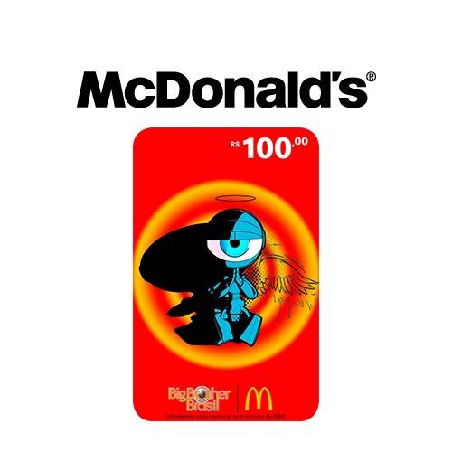 Gift Card McDonald's BBB R$ 100