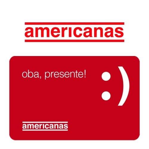 Vale Presente Americanas.com Virtual - R$ 100