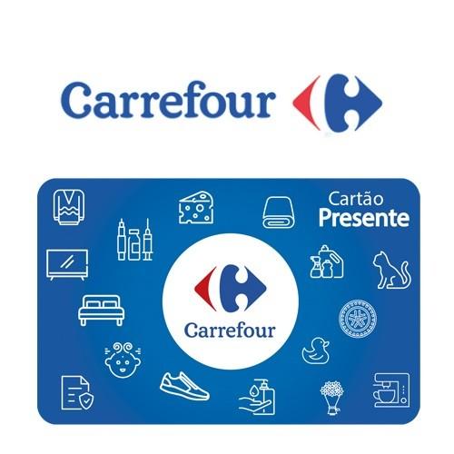 Cartão Presente Carrefour.com Virtual - R$ 25
