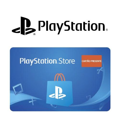 Cartão Pré-Pago PlayStation Store Virtual - R$ 100