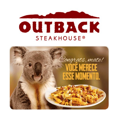 Gift Card Outback Virtual - R$ 100