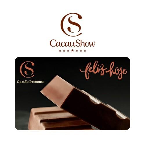 Cartão Presente Cacau Show Virtual - R$ 30
