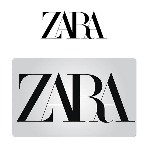 Cartão Presente Zara Virtual - R$ 500