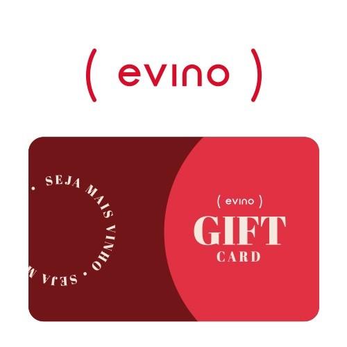 Cartão Presente Evino Virtual - R$ 300